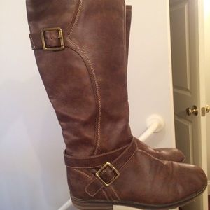 Natural soul by Naturalizer brown tall boots